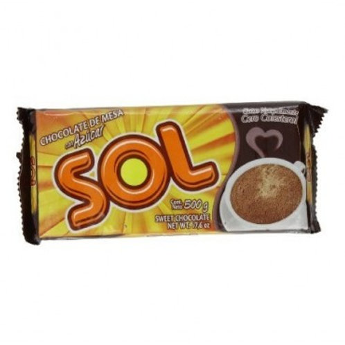 CHOCOLATE SOL X 500GR