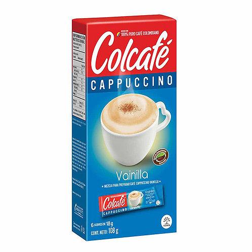 CAFE COLCAFE CAPUCCHINO VAIN X 18GX6 SOB