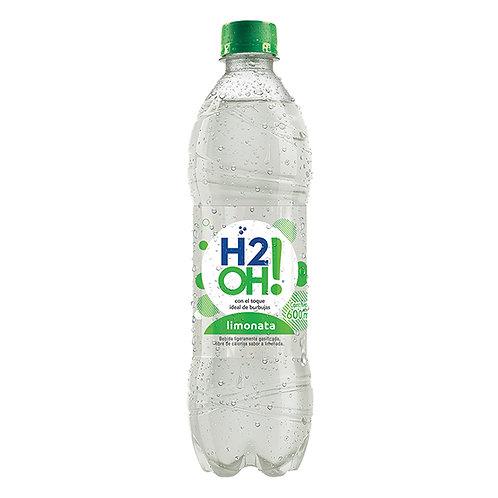AGUA H2O LIMONATA X 600 ML