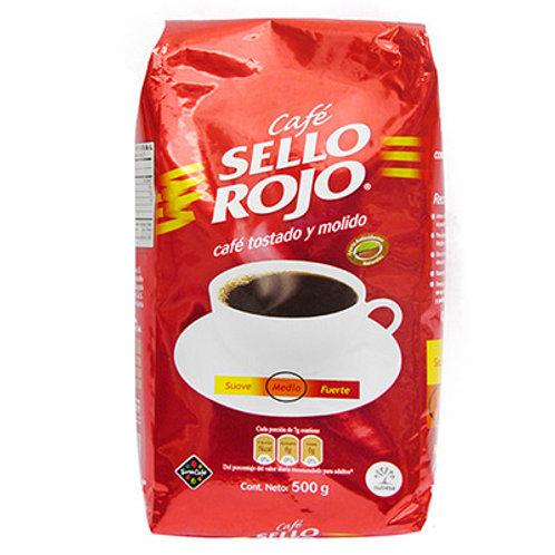 CAFE SELLO ROJO FUERTE  X 500 GR