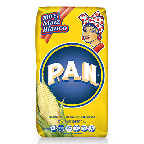 HARINA PAN MAIZ BLANCA X 1KG