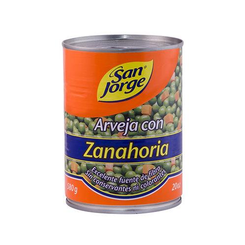 ARVEJA SJORGE CZANAHORIA X 580GR