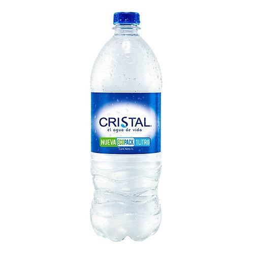 AGUA CRISTAL X 1 LT