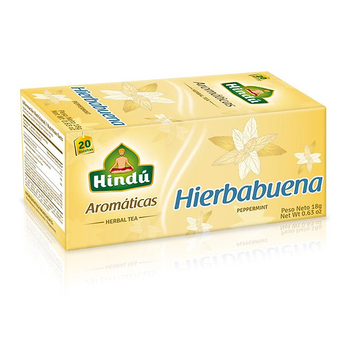 AROM. HINDU HIERBABUENA X 20 UND