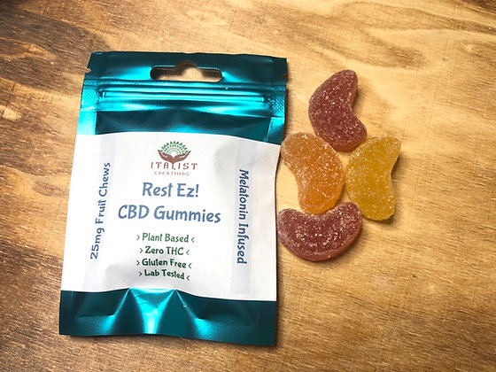 Rest Ez! 50mg CBD Nighttime Gummies