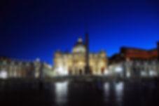 76 Vatican at Night-5.JPG