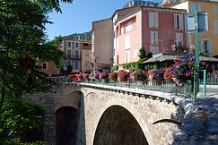 97 Provence Bridge with Flowers.JPG