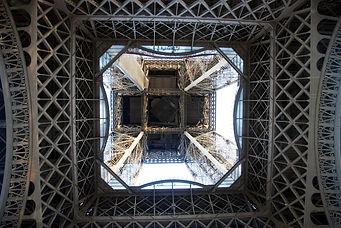 187 Eiffel Tower Underneath.JPG