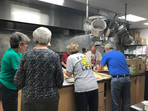 First Baptist Church of Boone provided meals for 150 Habitat for Humanity volunteers