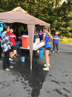 Union Baptist Church hands out water during a 5K run
