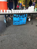 Union Baptist Church hands out water during a 5K run in Blowing Rock
