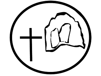 Crucifixion Resurrection badge.png