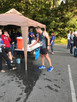 Union Baptist Church's youth group gave out water during a 5K run in Blowing Rock