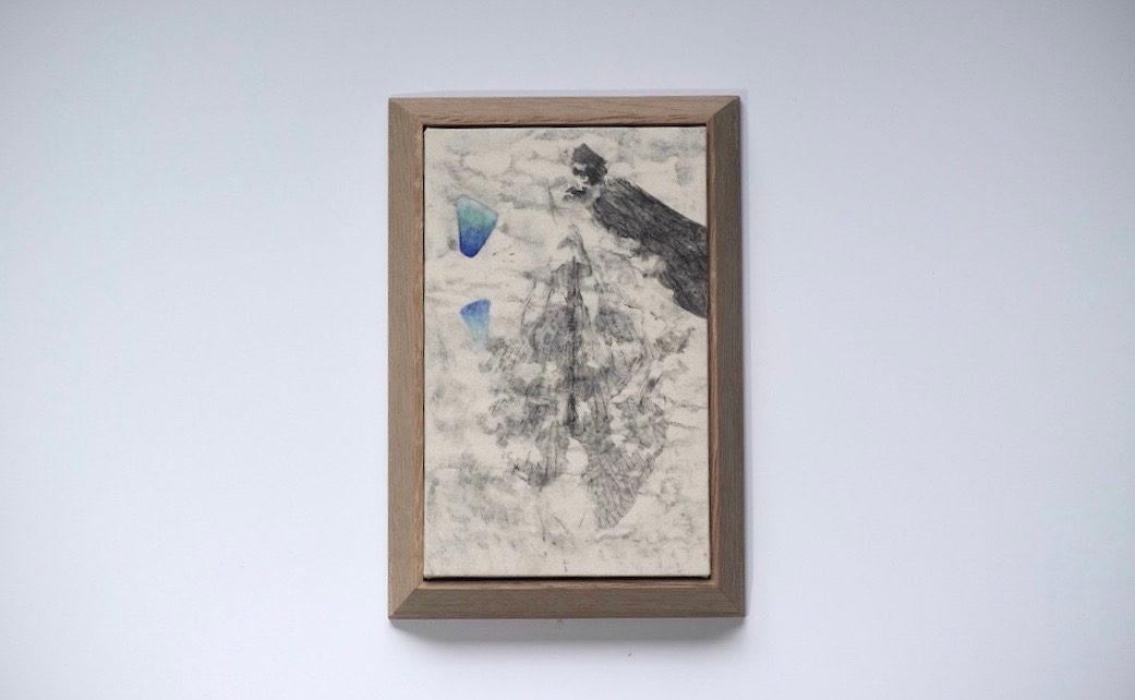 fragment / 仮説  70×90  2019