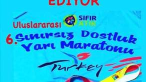 Edirne Sınırsız Dostluk Maratonu