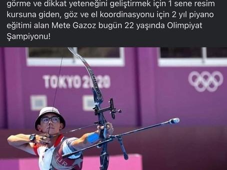 Milli Okçumuz Mete Gazoz