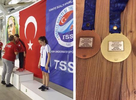 Beylikdüzü İMKB Ortaokulu Öğrencisi Türkiye Şampiyonu