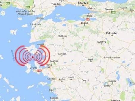 Ege Denizinde Deprem