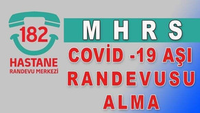 Covid 19 AŞI Randevusu