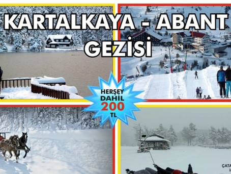 Kartalkaya - Abant Gezisi