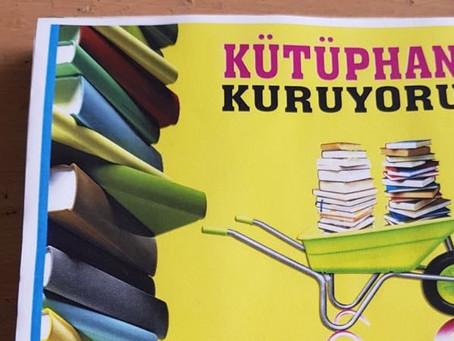 Kütüphane Kuruyoruz