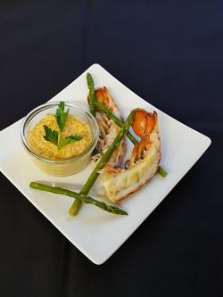 queue de homard risotto de boulgour