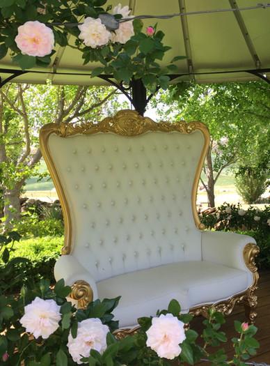 The Clifton bridal throne