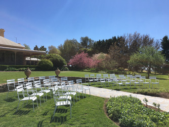 The perfect garden venue for your next function.