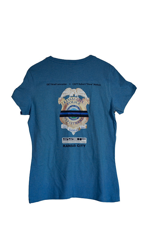 Ladies KCPD OFFICIAL SSOF T-SHIRT