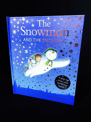The Snowman and the Snowdog Twinkly Lights Pop-up Book