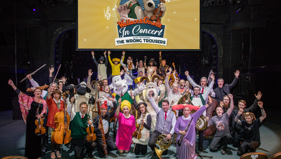 Wallace & Gromit: In Concert | Carrot Productions