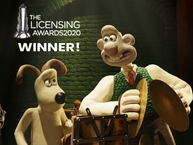 Wallace & Gromit wins Best Licensed Live Event!