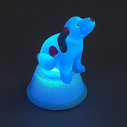 Acrylic colour changing Snowdog
