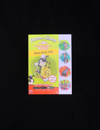 Augmented Reality Shaun the Sheep Stickers