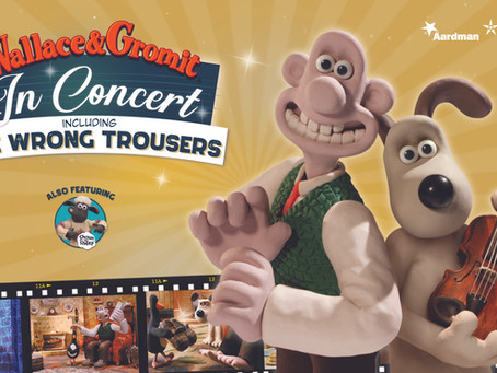 Wallace & Gromit are back!
