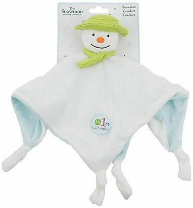 Snowman/Snowdog comforter