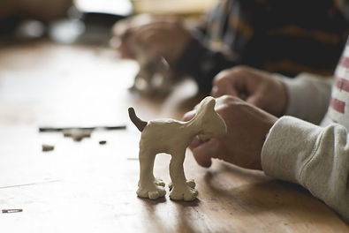 Gromit Model Making Workshops - Carrot P