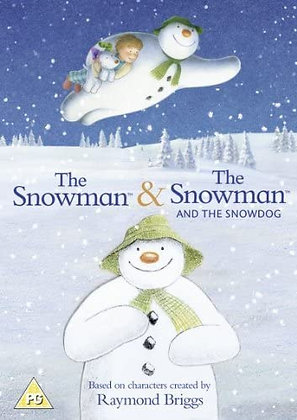 The Snowman and Snowman and Snowdog DVD (2 films)
