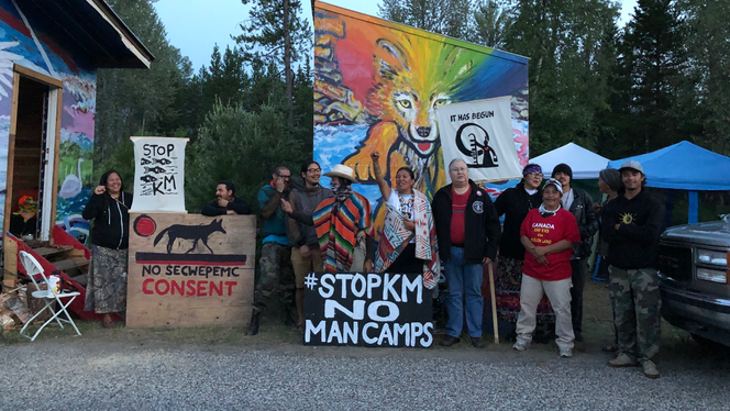 Protesting Man Camps