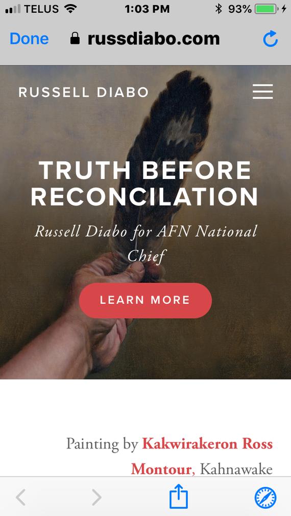 Truth Before Reconcilliation
