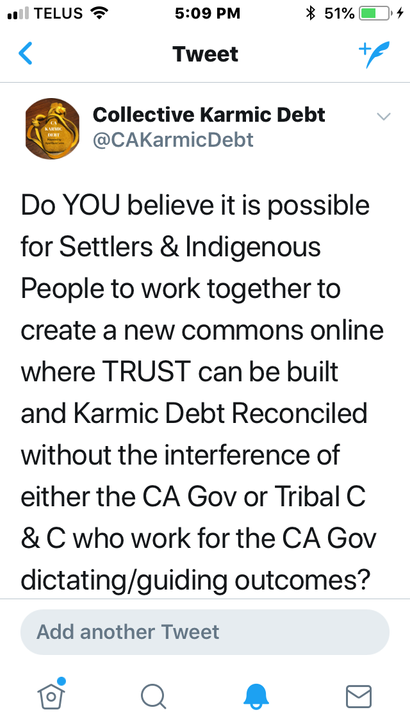 Question for Treaty People