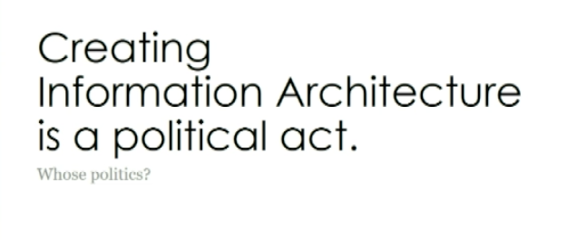 About Information Architecture