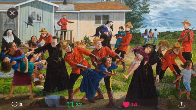 SCREAM by Kent Monkman