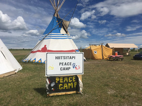 Nittsitapi Peace Camp