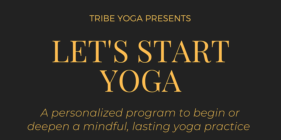 Let's Start Yoga