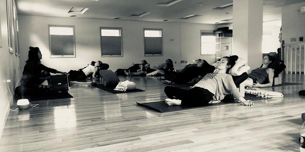 Relax + Restore: 3-Hour Restorative Yoga