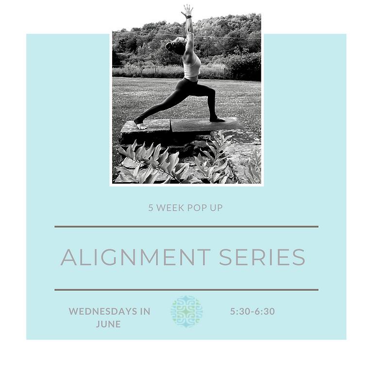 Pop-Up Alignment Series