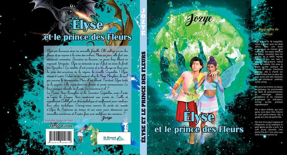Elyse et le prince des fleurs-avec rabat