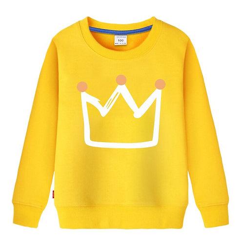Crown  Outwear Unisex  Sweatshirt for Kids