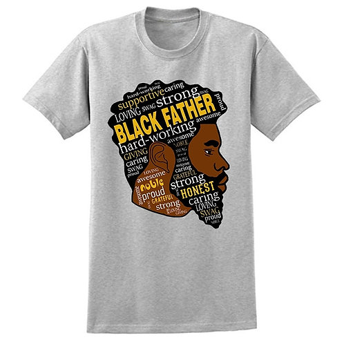 Black Father T-Shirt